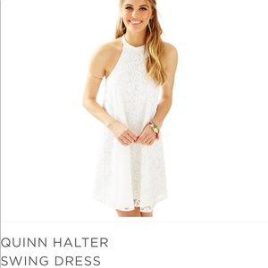 NWOT Lilly Pulitzer Quinn Halter Dress.